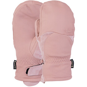 POW Stealth GTX Mitt +Warm Guantes Mujer, misty rose
